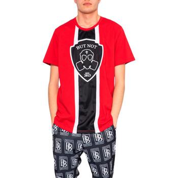 textil Hombre Camisetas manga corta But Not U9124-278 Rosso