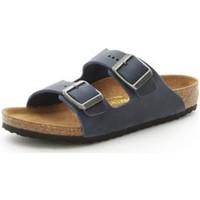 Zapatos Niño Zuecos (Mules) Birkenstock 553883 AZUL
