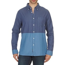 textil Hombre camisas manga larga Element BRENTWOOD Azul
