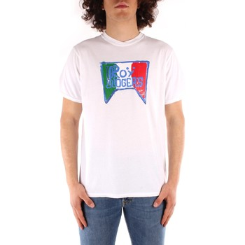 textil Hombre Camisetas manga corta Roy Rogers P21RRU513C7480013 BLANCO