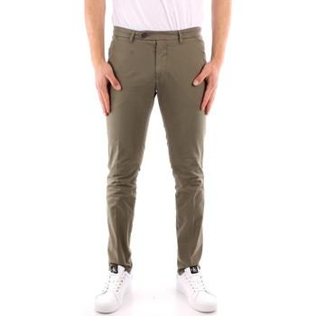textil Hombre Pantalones chinos Roy Rogers P21RRU013C9250112 VERDE