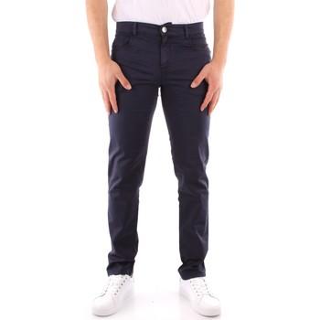 textil Hombre Pantalones chinos Trussardi 52J00007 1T005015 AZUL MARINO