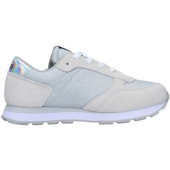 Zapatos Niña Zapatillas bajas Sun68 Z31404 PLATA