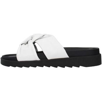 Zapatos Mujer Zuecos (Mules) Apepazza S1SOFTWLK01/LEA BLANCO
