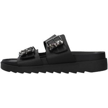 Zapatos Mujer Zuecos (Mules) Apepazza S1SOFTWLK03/LEA NEGRO