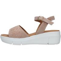 Zapatos Mujer Sandalias Melluso R80403A BEIGE