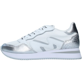 Zapatos Mujer Zapatillas bajas Manila Grace S682LU PLATA