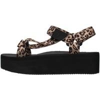 Zapatos Mujer Sandalias Windsor Smith POPPED MARRÓN