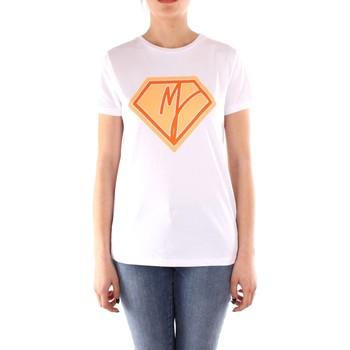 textil Mujer Camisetas manga corta Manila Grace T004CU BLANCO