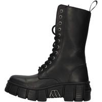 Zapatos Botas de caña baja New Rock WALL027NBASA NEGRO