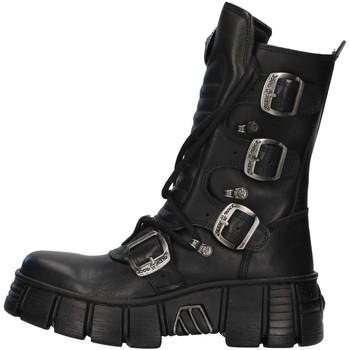 Zapatos Botas de caña baja New Rock WALL028N NEGRO