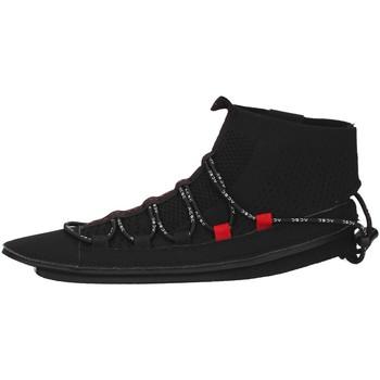 Zapatos Mujer Zapatillas altas Acbc SKLA107 NEGRO