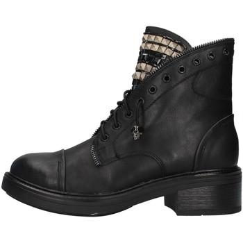 Zapatos Mujer Botas de caña baja Gold&gold GA75 NEGRO