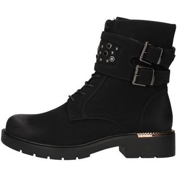 Zapatos Mujer Botas de caña baja Gold&gold GR63 NEGRO