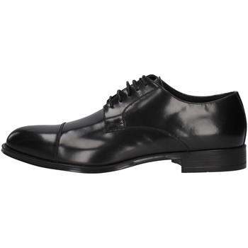 Zapatos Hombre Derbie Franco Fedele 6065 NEGRO