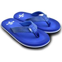 Zapatos Chanclas Brasileras Chanclas de playa ®, Puff Blue Royal