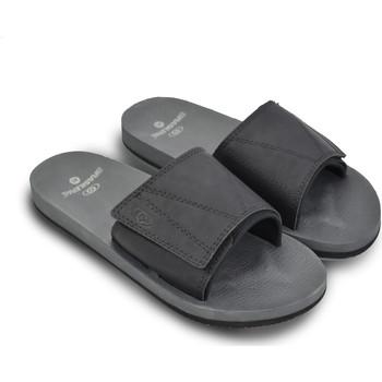 Zapatos Hombre Slip on Brasileras Chanclas de playa ®, Jay Black