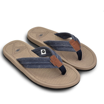 Zapatos Hombre Chanclas Brasileras Chanclas de playa ®, Oliver Blue