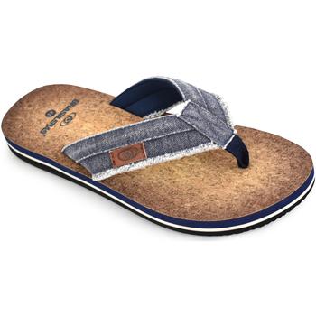 Zapatos Hombre Chanclas Brasileras Chanclas de playa ®, Anil Blue