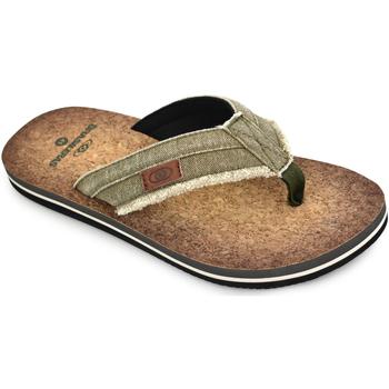 Zapatos Hombre Chanclas Brasileras Chanclas de playa ®, Anil Green