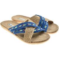 Zapatos Mujer Sandalias Brasileras Sandalia ®, Tren Loom Blue