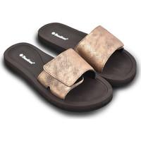 Zapatos Mujer Sandalias Brasileras Chanclas de playa ®, Platino Brown