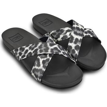 Zapatos Mujer Sandalias Brasileras Sandalia ®, Pardo Black