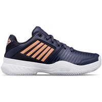 Zapatos Mujer Running / trail K-Swiss KSWISS COURT EXPRESS HB AZUL MELOCOTÓN MUJER 96750034 MELOCOTON