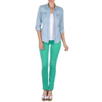 textil Mujer pantalones con 5 bolsillos Cimarron CASSIS Verde