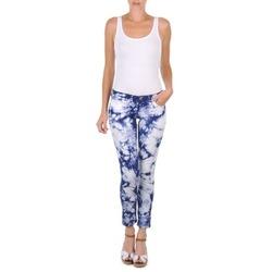 textil Mujer Pantalones cortos Cimarron CLARA TIE DYE Azul