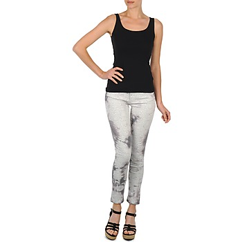 textil Mujer Pantalones cortos Cimarron CLARA TIE DYE PYTHON Gris