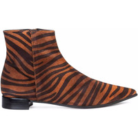 Zapatos Mujer Botines Paco Gil NACHA Marrón