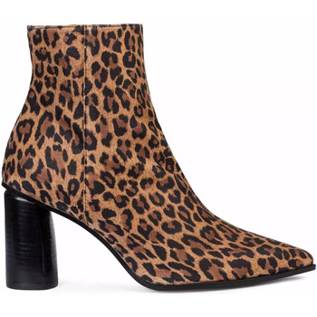 Zapatos Mujer Botines Paco Gil NATALIA Marrón