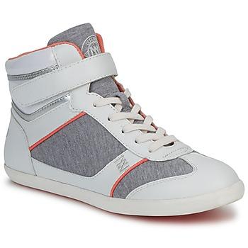 Zapatos Mujer Zapatillas altas Dorotennis MONTANTE VELCRO Gris