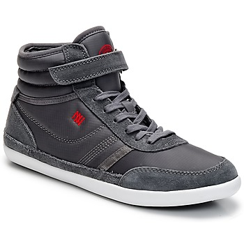 Zapatos Mujer Zapatillas altas Dorotennis MONTANTE STREET VELCROS Gris