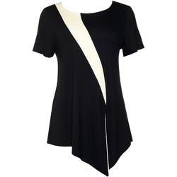 textil Mujer Tops / Blusas Lisca Top de manga corta Guaraja negro Pearl Black