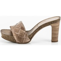 Zapatos Mujer Zuecos (Mules) Penelope 6017 Beige