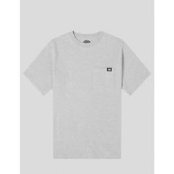 textil Hombre Camisetas manga corta Dickies CAMISETA  PORTERDALE TEE HEATHER GREY Gris