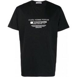 textil Hombre Camisetas manga corta Givenchy T-Shirts BM70SC3002 - Hombres negro