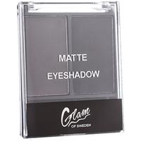 Belleza Mujer Sombra de ojos & bases Glam Of Sweden Matte Eyesahadow 03-dramatic 4 Gr 4 g