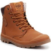 Zapatos Zapatillas altas Palladium Manufacture Sport WPS 72992-251-M marrón