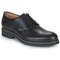 Zapatos Hombre Derbie Pellet Nautilus Negro