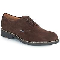 Zapatos Hombre Derbie Pellet Nautilus Marrón