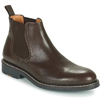 Zapatos Hombre Botas de caña baja Pellet RAYMOND Marrón