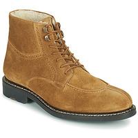 Zapatos Hombre Botas de caña baja Pellet ROLAND Marrón