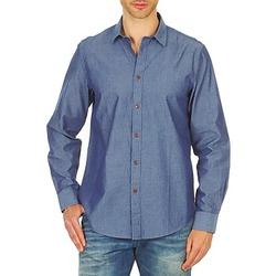 textil Hombre camisas manga larga Ben Sherman BEMA00490 Azul