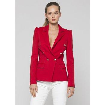textil Mujer Chaquetas Kocca Blazer FELA Rojo