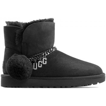 Zapatos Mujer Botas de nieve UGG 1112493-W CLASSIC  CHARM MINI NEGRO Negro