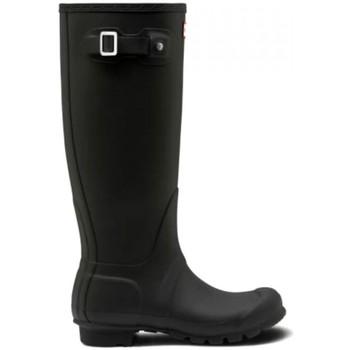 Zapatos Mujer Botas de agua Hunter WFT1000RMA BLK NEGRO Negro