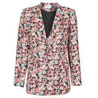 textil Mujer Chaquetas / Americana Betty London OBIMBA Negro / Rosa